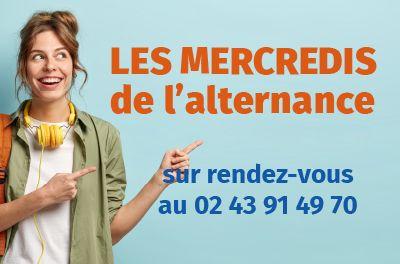 Visuel mercredi de l'alternance pour les apprentis au CFA CCI Formation Mayenne
