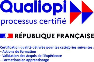 Le CFA CCI Formation Mayenne est certifié Qualiopi pour la qualité de ses formations