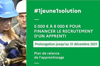Le plan de relance de l'apprentissage est prolongé et possible avec le CFA CCI Formation Mayenne