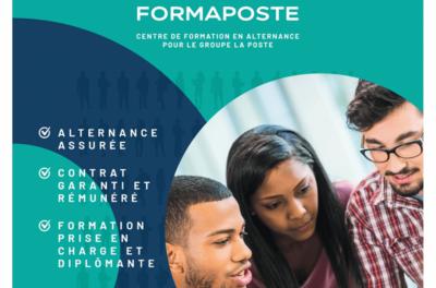 La Poste et le CFA CCI Formation Mayenne recrutent des alternants pour leurs formations du CAP au Master