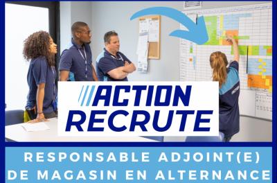 Action recrute ses alternants avec le CFA CCI Formation Mayenne pour sa formation responsable de distribution