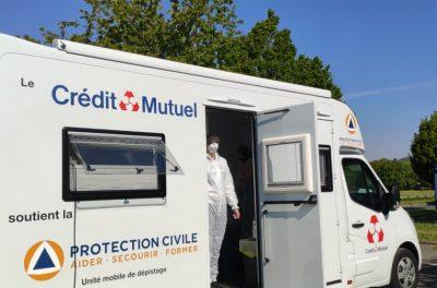 Le CFA CCI Formation Mayenne a accueilli la sécurité civile dans le cadre de la campagne de dépistage de la COVID-19